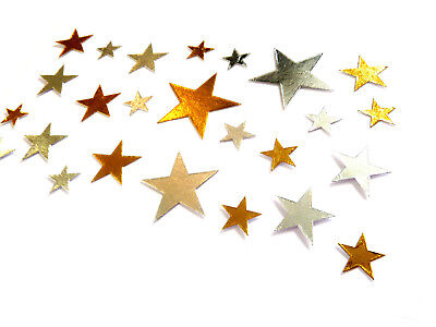 60 x Magic Night Stars Gilding Decorative Washi Stickers Stick Label DIY