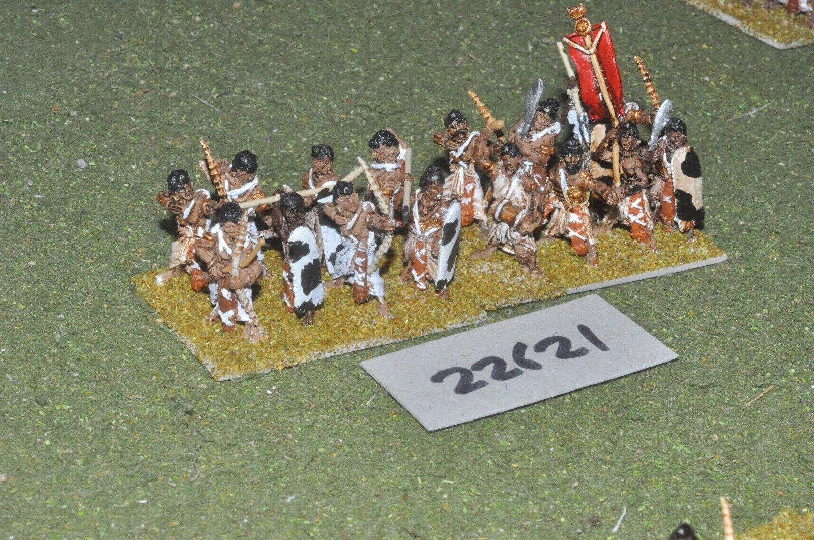 25mm Classical   Indian - archers 16 figures - inf (22621)