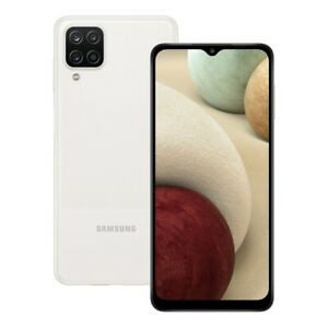 SIM Free Samsung Galaxy A12 6.5 Inch 64GB 48MP 4G Android Mobile Phone - White