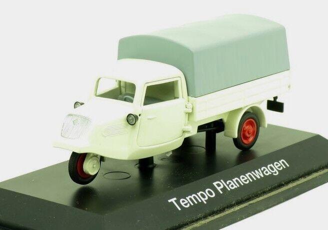 Tempo Planenwagen 02122 Schuco 1 43 New in a box box box  949df3