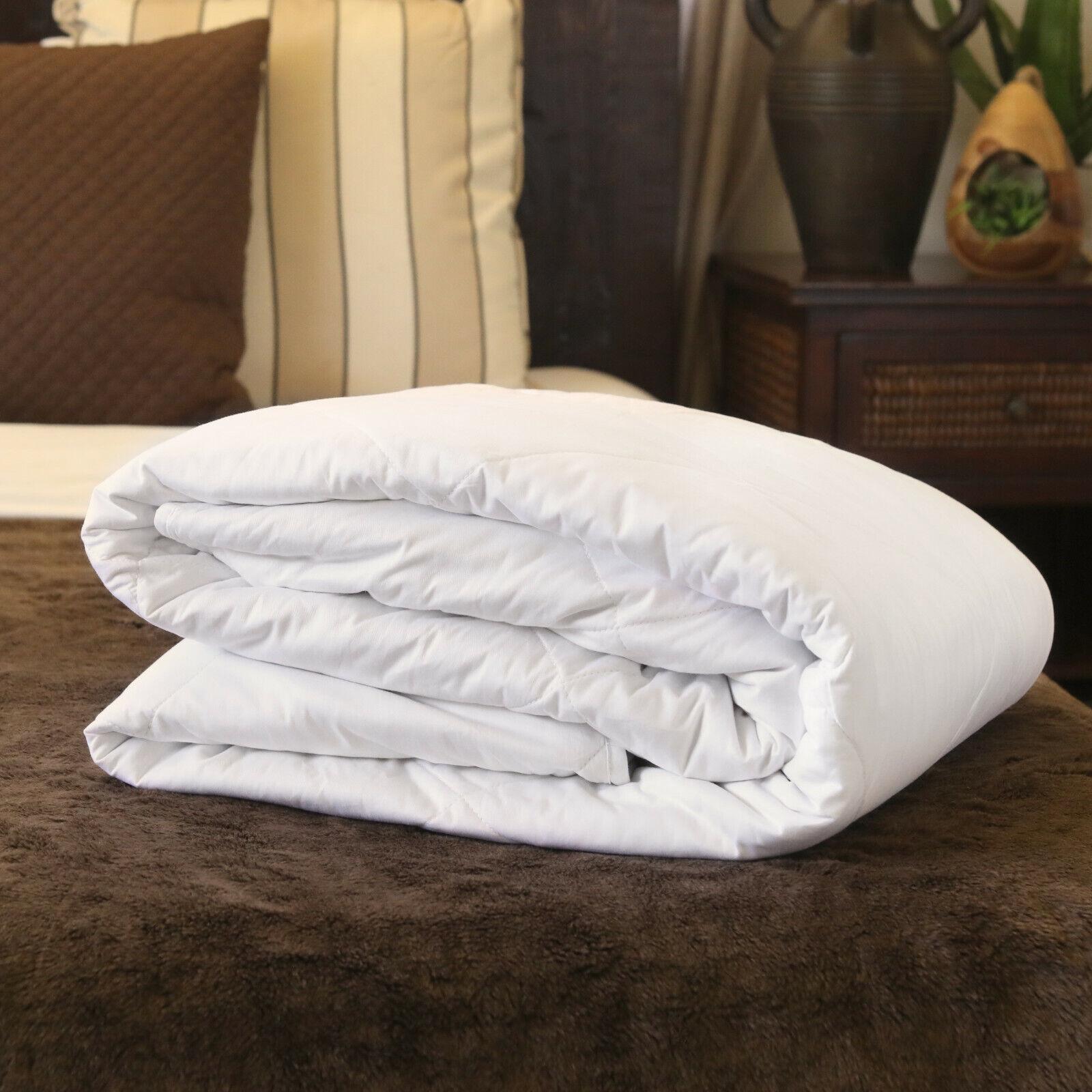 Luxury Mulberry Silk-Filled Duvet. Spring Autumn Weight. All Bed Größes.
