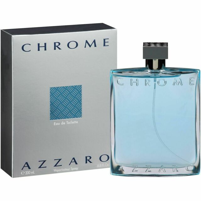 Azzaro Chrome Cologne for Men 200ml EDT Spray