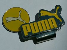 Brand New Yellow and White Puma Golf Ball marker with hat clip!!