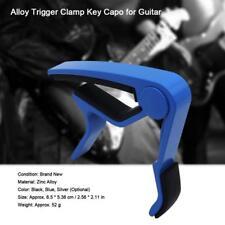 Premium Guitar Capo: Quick Change Trigger Clamp for 6-string Folk Classic Guitar