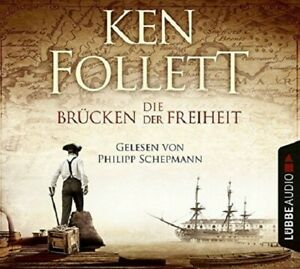 KEN-FOLLETT-DIE-BRUCKEN-DER-FREIHEIT-5-CD-NEW