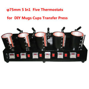 5-in-1-Heat-Press-Transfer-Sublimation-Machine-75mm-LCD-Display-for-Mugs-Cups