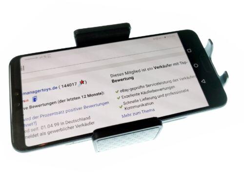 Für Samsung Galaxy A7 M20 A40 Auto Halterung Kugelgelenk grün schwarz HR Halter
