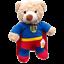 8-10-inch-25cm-TEDDY-CLOTHES-TUXEDO-SUPERBEAR-KARATE-PJ-SUPERBEAR-DINO-HOODIE thumbnail 11