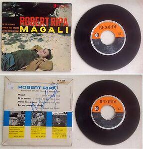 Robert-Ripa-Disque-Super-45T-vinyl-4-titres-Magali-vintage