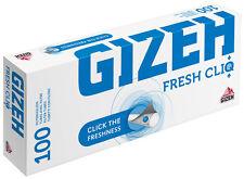 1000 (10x100) GIZA Fresco CliQ (Maniche, Guaina filtro, Tubi per sigarette)