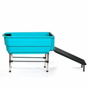 Pedigroom Pet Dog Booster Bath With Ramp Plastic Mobile Portable ...