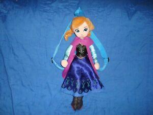 Disneys Frozen Plush Elsa Backpack 17 with adjustable straps