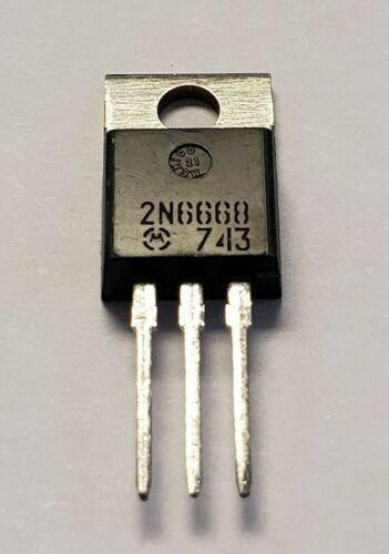 2N6668 Motorola POWER DARLINGTON TRANSISTOR 10A 80V 65W TO-220