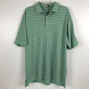 2c65891fdbc Peter Millar Mens Summer Comfort Golf Polo Shirt Size XL Green NWT ...