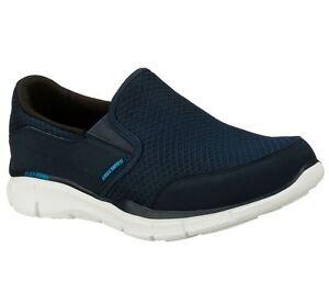 Talla Skechers To Azul Zapatillas Marino En Persistente Uk6 Hombre Equilizer xUqxpv1