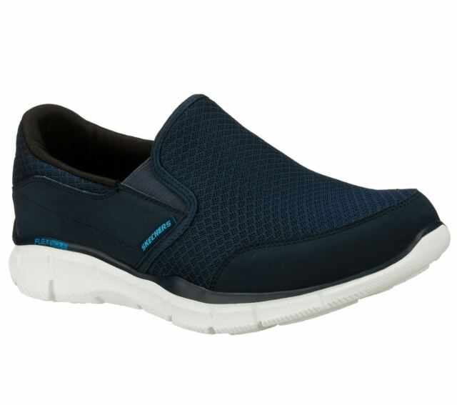 812d60fcb2d55 SKECHERS Men's Equilizer Persistent Training Shoes in Navy in Size UK6 To  UK13