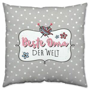 Sheepworld-Kissen-Beste-Oma-der-Welt-Geschenk-Dekokissen-Kuschelkissen-Neu