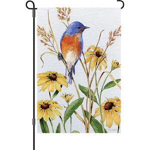 "PR 56148 Bluebird Beauty 12/"" x 18/"" Approx Garden Flag..5.."