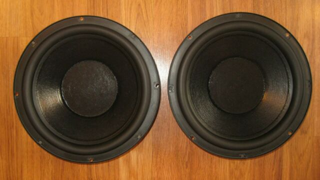 "Pair of Polk Audio SW100 Monitor 10A 10"" Passive Radiators - Excellent Condition"