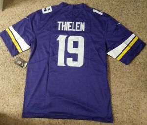 3ac6f71c Details about Brand New Minnesota Vikings #19 Thielen Extra Large Mens  Football Jersey