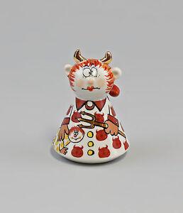 9942751 Porzellan Salz/Pfeffer-Streuer Teufel Karikatur Ziege by W&A H6cm