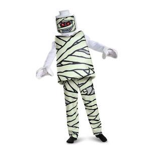 Image is loading Kids-LEGO-Mummy-Deluxe-Halloween-Costume  sc 1 st  eBay & Kids LEGO Mummy Deluxe Halloween Costume   eBay