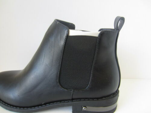 Girls Black Spot On Chelsea Ankle Boots UK Sizes 11-3 H5038