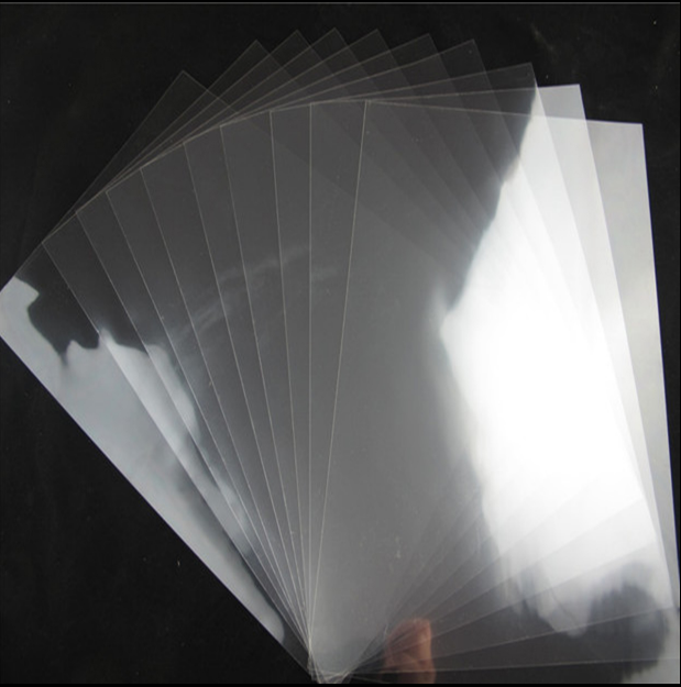 5x A4 Clear Transparency Overhead Projector Film for LASER Printer/ Cover Photo