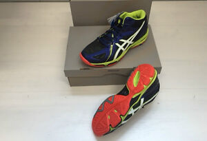 FW17 ASICS FIPAV SCARPE GEL VOLLEY ELITE 3 MT PALLAVOLO SHOES MAN B501N 5001