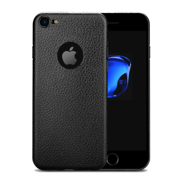 Elegant Luxury Leather Soft Back Cover Case for Apple iPhone 7