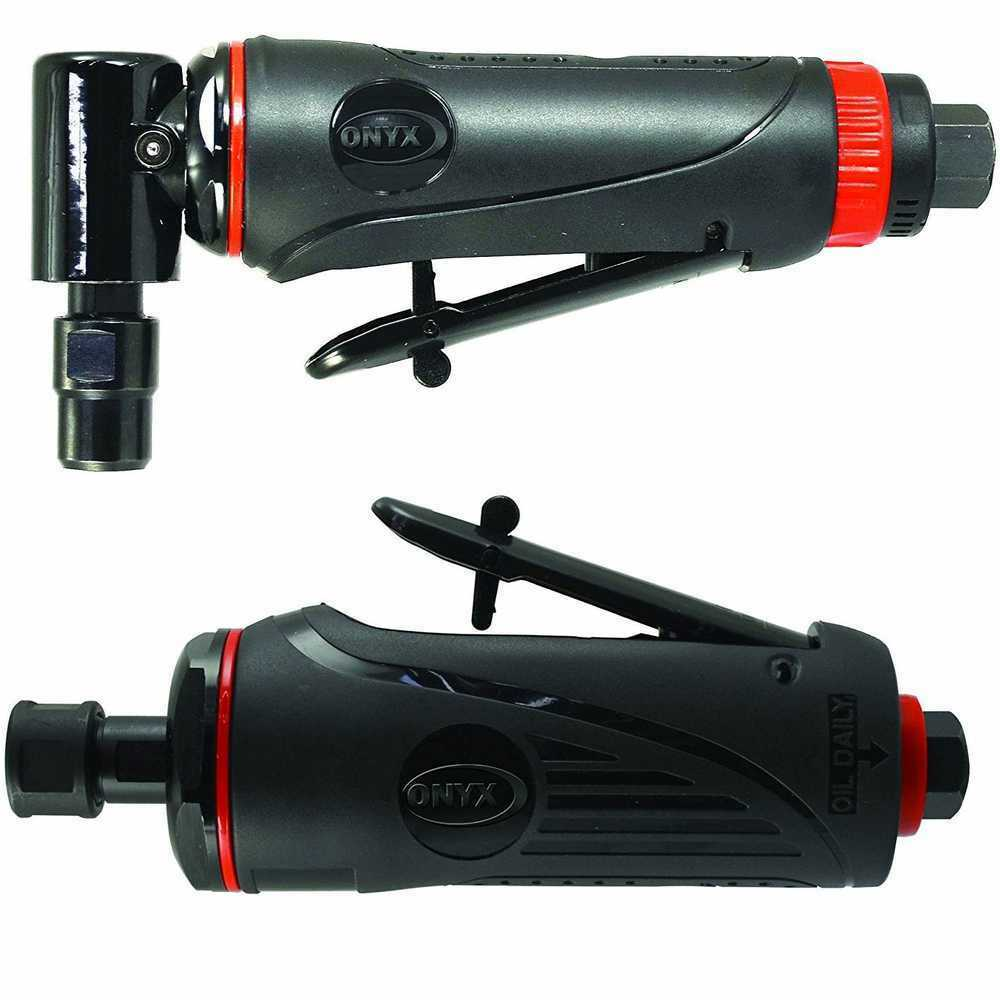 Astro Pneumatic Tool 222 ONYX 1/4 Angle Die Grinder & 1/4 Die Grinder Set. Available Now for 87.50