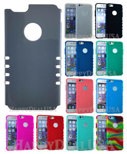 KoolKase-Slim-Hybrid-Soft-Silicone-Case-for-Apple-iPhone-PEARL-GRAY-Hard-Cover