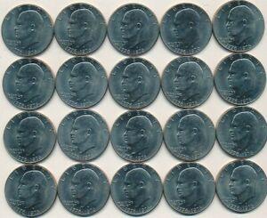 IKE DOLLAR 1976-D TYPE 2  UNCIRCULATED  EISENHOWER