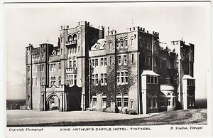 TINTAGEL  King Arthur039s Castle Hotel  R Youlton c1950s era Real Photo postcard - <span itemprop=availableAtOrFrom>Lincoln, United Kingdom</span> - TINTAGEL  King Arthur039s Castle Hotel  R Youlton c1950s era Real Photo postcard - Lincoln, United Kingdom