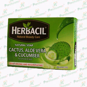 Jabón Herbacil Nopal, Savila, Pepino 3.5 Oz.