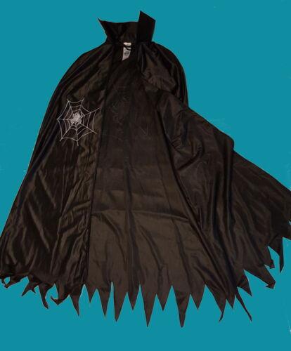 L XL Cape Cape Sorcière Magicienne Sorcière Araignée Costume Femmes Sorcières Costume à T M