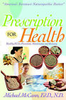 Presciption for Health by Michael McCann (Paperback / softback, 2001)