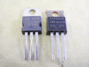 2x IRF540N POWER MOSFET IRF540 Transistor 33A 100V