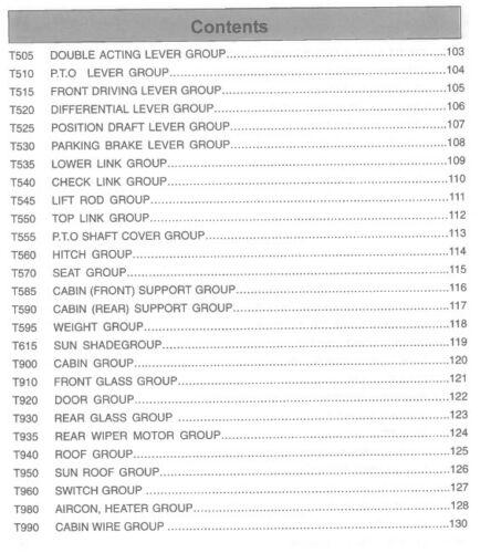 FLAT RATE TRACTOR MANUAL C KIOTI DK65