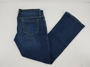 Old-Navy-Diva-Boot-Cut-Jeans-8-Short-Medium-Wash-Women-039-s-Pants-Stretch-Denim