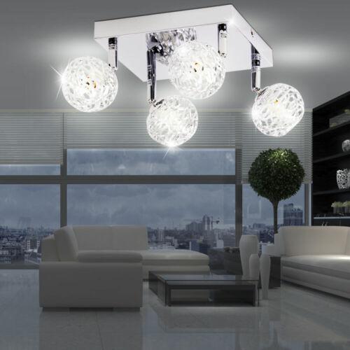 LED Design Decken Lampe Gäste Ess Zimmer Spot Leuchte Strahler Big Light