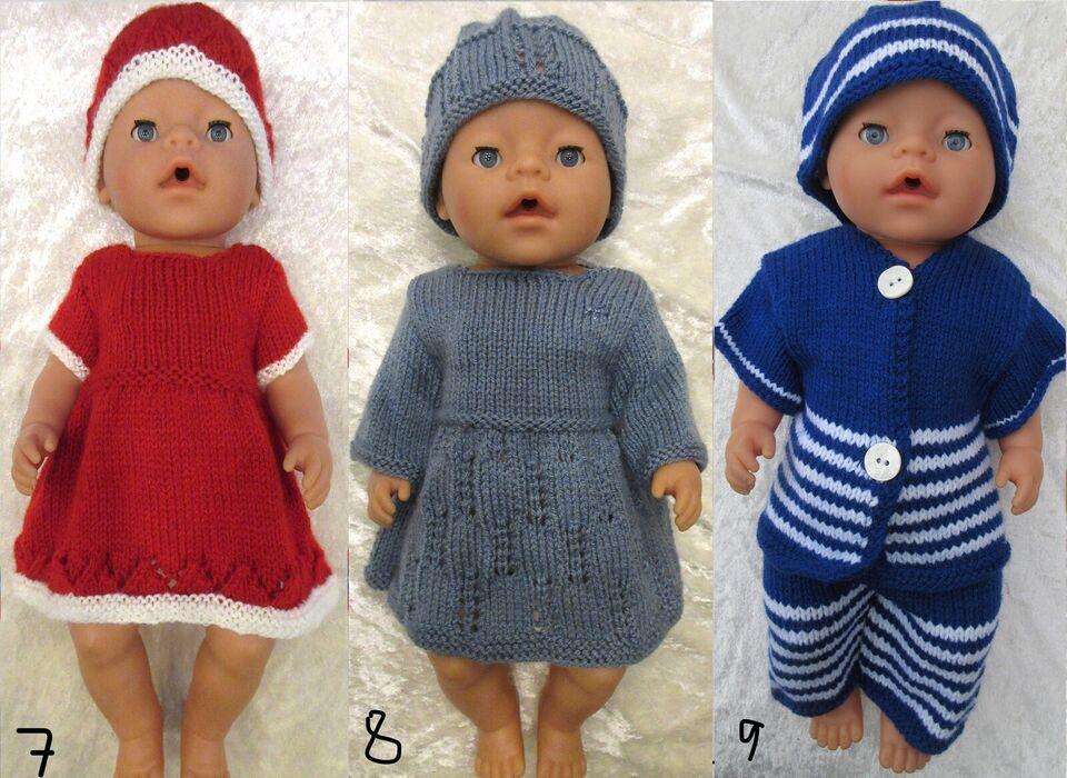 Babyborn, dukketøj dukkekjole dukkesæt
