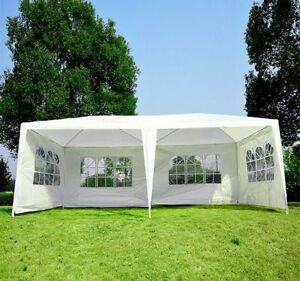 Gazebo-Wedding-Canopy-Party-Tent-w-4-Removable-Window-Sidewalls