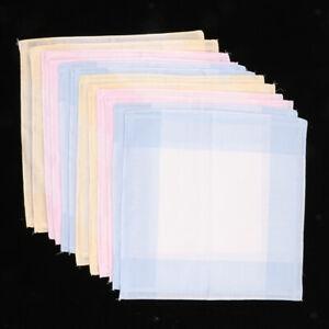 Fazzoletti-da-donna-Set-100-cotone-tessuto-fazzoletto-di-stoffa-borsa-30-x