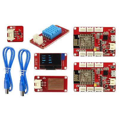 ESP8266 IOT Weather Station Kit Sensors Nodemcu DIY Intelligent Smart Home    eBay