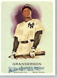 2011 Allen & Ginter #279 Curtis Granderson- New York Yankees