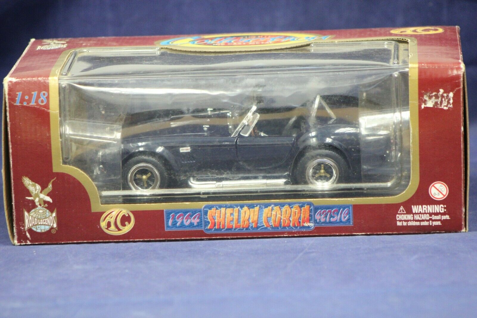 1//18 1964 Ford Shelby COBRA 427 S//C Road Signature Diecast Model Car Toys