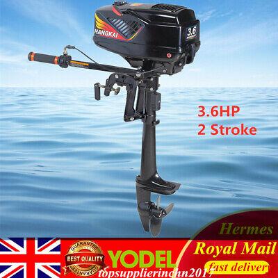 New 3.6HP 2 Stroke Short shaft Outboard Motor Boat Engine CDI System UK