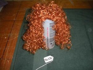 Monique Collection Ashley Size 12-13 Carrot Red Doll Wig   DL073