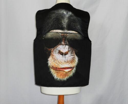Lustige Neuheit Weste Cool Affe Sonnenbrille Kostüm Spass Geschenk Party